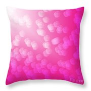 Heavenly Roses Throw Pillow