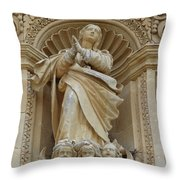 Heavenly Statue Throw Pillow