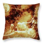 Heavenly Throne Throw Pillow