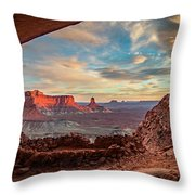 Heavenly View Throw Pillow