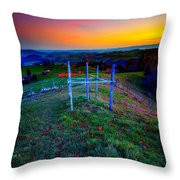 Heavenly Views Throw Pillow