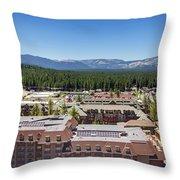 Heavenly Village Throw Pillow
