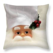 Heaven's Chef Throw Pillow by Christine Till