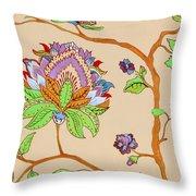 Heavens Flower Throw Pillow
