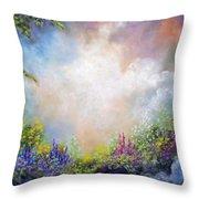 Heaven's Garden Throw Pillow