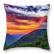 Heaven's Gate - West Virginia 2 Throw Pillow