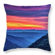 Heaven's Gate - West Virginia 6 Throw Pillow