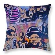 Heavens Ghetto Throw Pillow