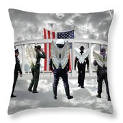 Heaven's Pride Throw Pillow by Lydia Miller