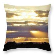 Heaven's Rays Throw Pillow