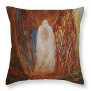 Heavens Watch Throw Pillow