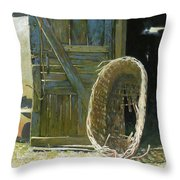 Heavy Harvest  Throw Pillow
