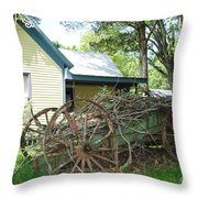 Heavy Wagon Load Throw Pillow