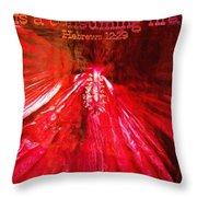 Hebrews 12 29 Throw Pillow