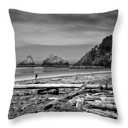 Heceta Head Lighthouse Throw Pillow