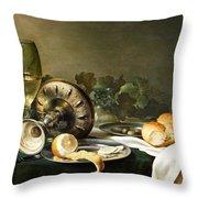Heda - Still-life Throw Pillow