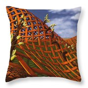 Hedera Ferrugo Throw Pillow