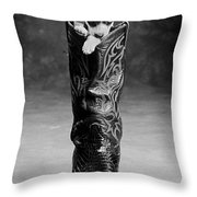 Heeler Throw Pillow