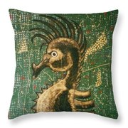 Hehorse Throw Pillow