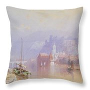 Heidelberg Throw Pillow by Thomas Miles Richardson