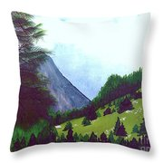 Heidi's Place Throw Pillow