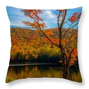 Heights Of Autumn Throw Pillow