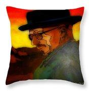 Heisenberg Crystallized Throw Pillow