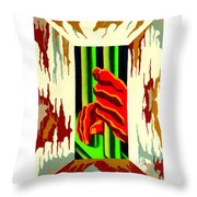 Held Hope Throw Pillow