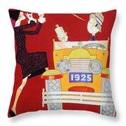 Held: Sheik & Sheba, 1925 Throw Pillow
