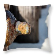 Held Together Throw Pillow