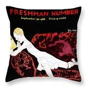 Held Sweet Sexteen, 1926 Throw Pillow