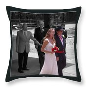 Helen And Bob Throw Pillow