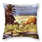 Helen Dranga Art Throw Pillow
