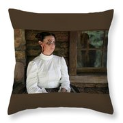 Helen Keller Vs. Nightwolves Throw Pillow