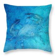 Helene's Crab Throw Pillow