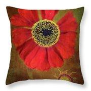 Helenium Beauty Throw Pillow