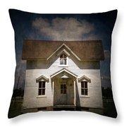 Helis Farm Cottage Throw Pillow