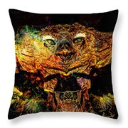 Hell Bird Throw Pillow