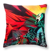 Hell Of A Day Throw Pillow