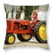 Hello From The Heartland Throw Pillow