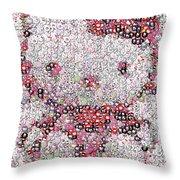 Hello Kitty Button Mosaic Throw Pillow