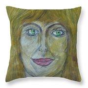 Hello Mary Lou Throw Pillow