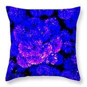 Hello My Name Is Purple Throw Pillow