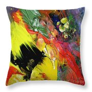 Hello Sunshine 02 Throw Pillow