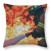 Hell's Acre  Throw Pillow