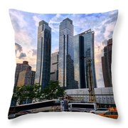 Hell's Kitchen Throw Pillow