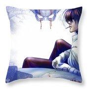 Hellsing Throw Pillow