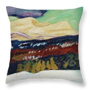 Helmer Osslund, Areskutan Autumn Throw Pillow