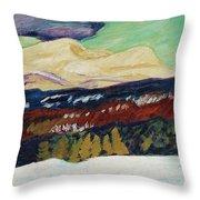 Helmer Osslund,   Autumn Throw Pillow