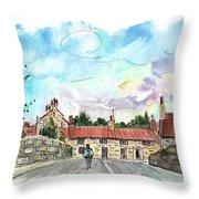 Helmsley 01 Throw Pillow